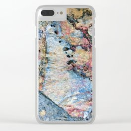 Stone Art Clear iPhone Case