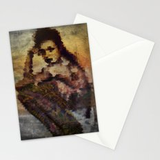Just sitting Stationery Cards