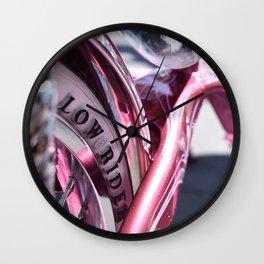 Lowrider Bike Wall Clock