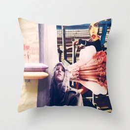 how could i forgot about janes addiction? Throw Pillow
