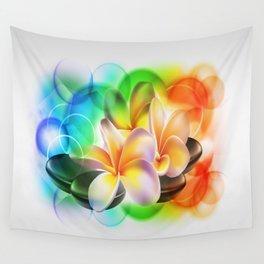 Porzellanblumen Wall Tapestry