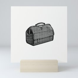 Medical bag from The Ocean as a Health Resort A Handbook of Practical Information as to Sea-Voyages Mini Art Print