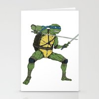 leonardo Stationery Cards featuring Leonardo by Neal Julian