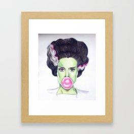 Frankie's Girl Framed Art Print