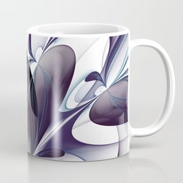 Easiness, Abstract Modern Fractal Art Coffee Mug