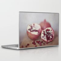 pomegranate Laptop & iPad Skins featuring Pomegranate by Kim Bajorek