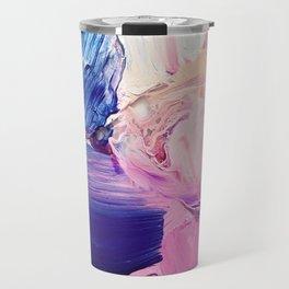 Saturday Night (Abstract Painting) Travel Mug
