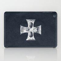 gore iPad Cases featuring Cross Skull 2.0 by pakowacz