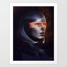 Mass Effect: EDI Art Print