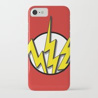 the flash iPhone & iPod Cases featuring Flash by Msimioni