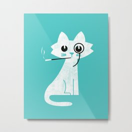 Mark - Aristo-Cat Metal Print
