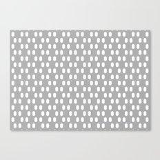 Aelbrecht Grey Pattern Canvas Print