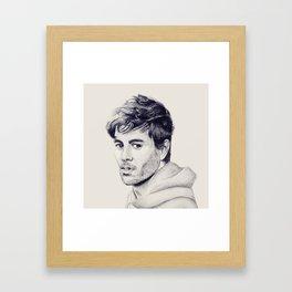 Enrique Iglesias Framed Art Print