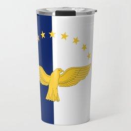 Azores Flag Travel Mug