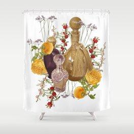 Scented Garden Shower Curtain