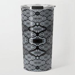 Teardrops in Grey (Smaller) Travel Mug