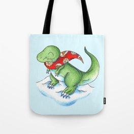 Winter Rex Tote Bag