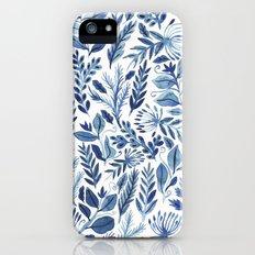 indigo scatter Slim Case iPhone SE