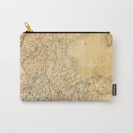 Map of Zhili and Shandong, China (c1855-1870) Carry-All Pouch