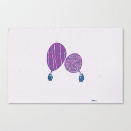 Conversation, II Canvas Print