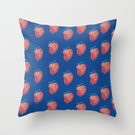 Strawberries by Brody Throw Pillow