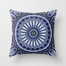 China Blue Throw Pillow