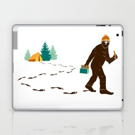 A Hairy Camp Robber Laptop & iPad Skin
