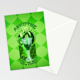 Absinthe Makes The Heart Grow Fonder Stationery Cards