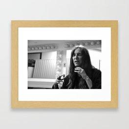 Patti Smith Expains Framed Art Print