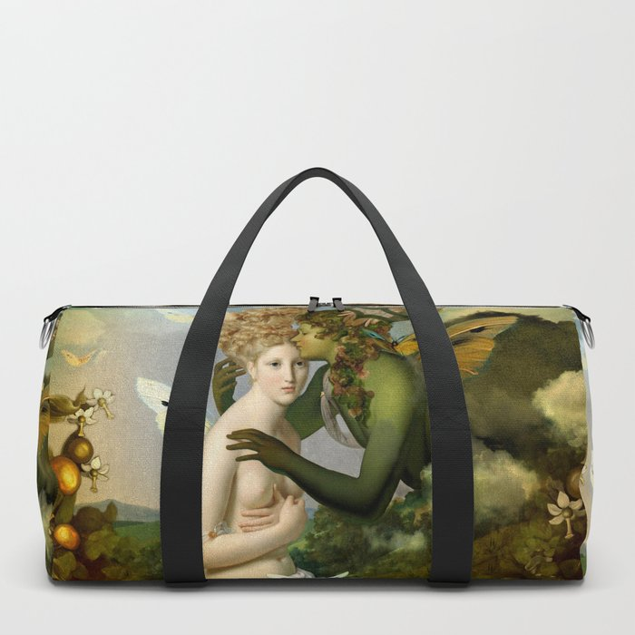 """The body, the soul and the garden of love"" Duffle Bag"