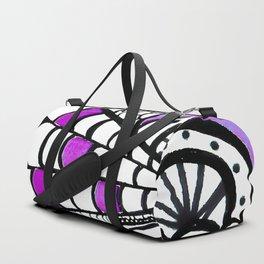 Galaxy Zentangle Drawing Duffle Bag