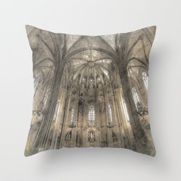 Cathedral in Throw Pillow