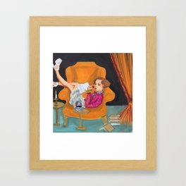 """mary, sunday afternoon"" Framed Art Print"