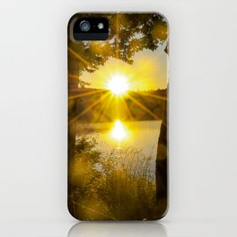 Sunset Flare iPhone Case