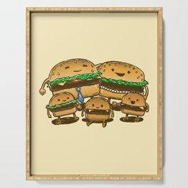 BurgerFam Serving Tray