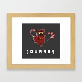 Little journey Framed Art Print