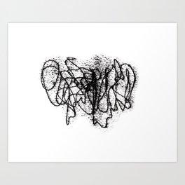 Circles°4 Art Print