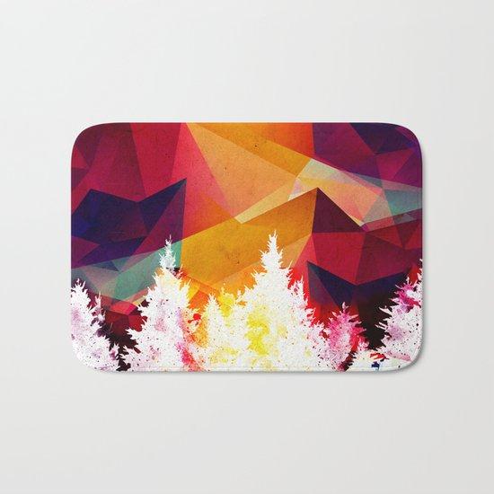 Forest explosion of color Bath Mat