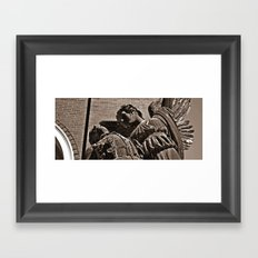 the grace Framed Art Print