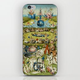 Hieronymus Bosch The Garden Of Earthly Delights iPhone Skin