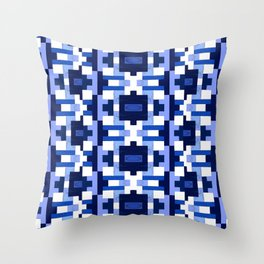 Gridlock Throw Pillow