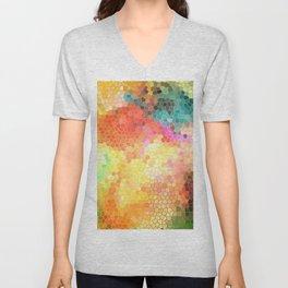 Rainbow Sherbert Unisex V-Neck