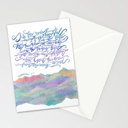 He Has Made Everything Beautiful-Ecclesiastes 3:11 Stationery Cards