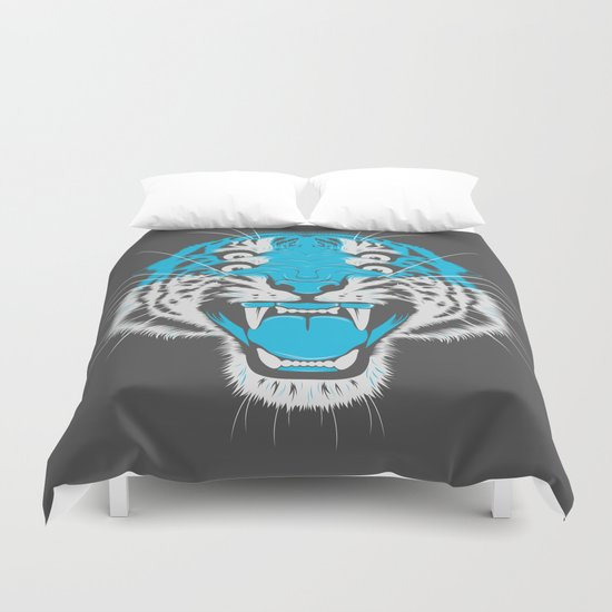 Tiger Head Duvet Cover