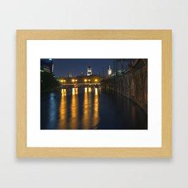 GHOST HOUR in BERLIN Framed Art Print