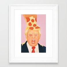 King Greasy Framed Art Print