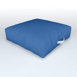 Lapis Lazuli Blue Outdoor Floor Cushion