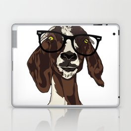 Hipster Goat Laptop & iPad Skin