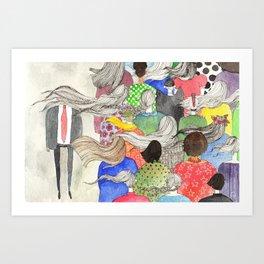 Ladies, Outshine Bullies! Art Print