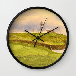 Old Head Golf Course 17th Hole Wall Clock